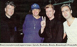 Lynch, Bowie and co.
